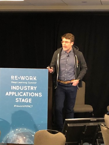 Neil at the REWORK Deep Learning Summit 2019
