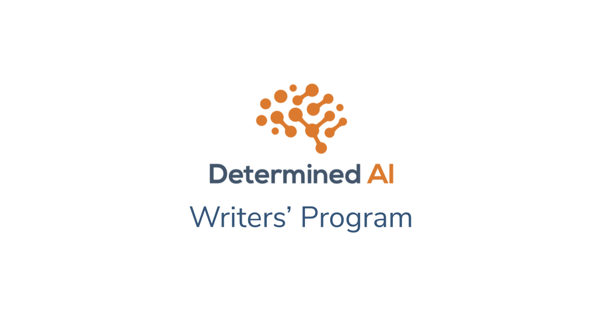 Come write for Determined!